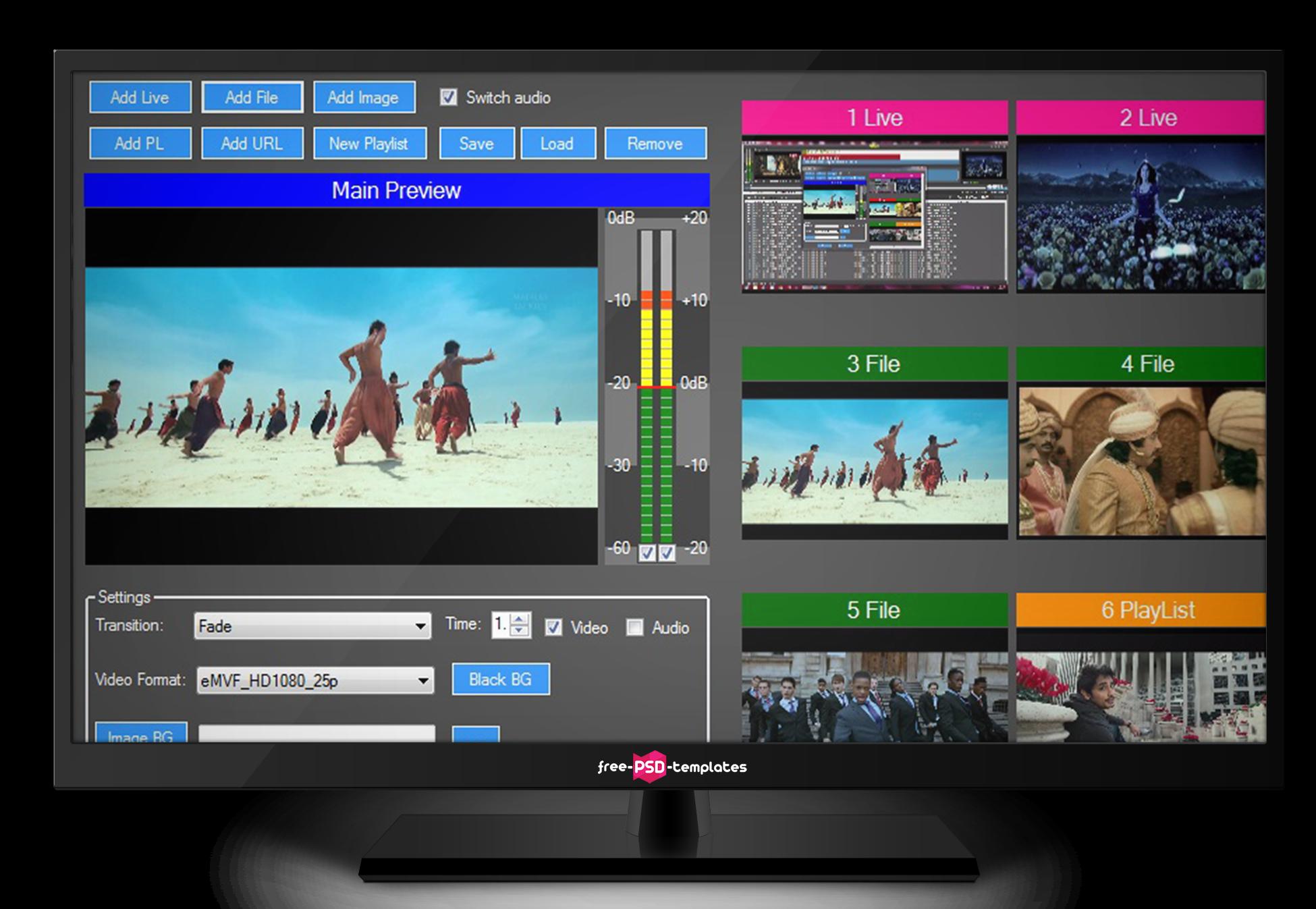 Indytek | Playout Software | WebTV | Capture Software