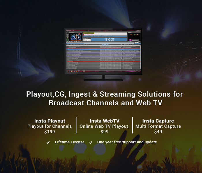 Indytek | Playout Software | WebTV | Capture Software